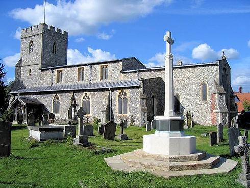 Chalfotn St Giles Parish Church side vie