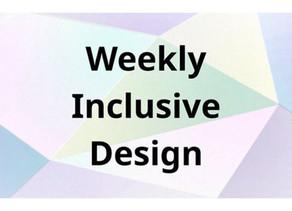 【 メディア 】「Weekly Inclusive Design」で「INCLUSIVE DESIGN WORKSHOP」を取材いただきました!