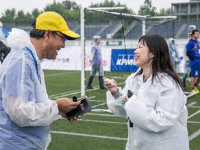【 イベント 】「ブラインドサッカー日本選手権」での「&HANDボランティア」体験会の報告