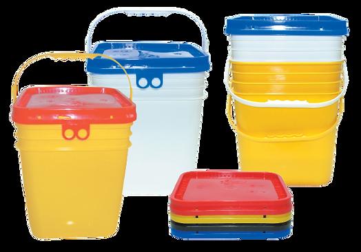 Envases Plásticos Morgan - Cuadrados