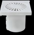 """Accesorios Utilitarios - Cuadrada Radial con Sosco 3"""" x 2"""""""
