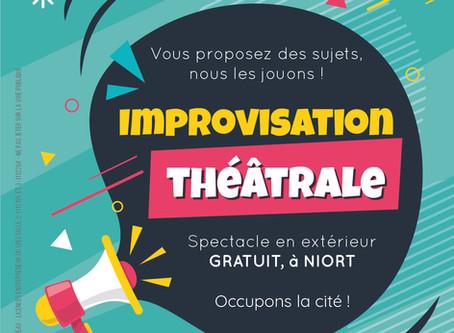 Projet Impro cités à Niort