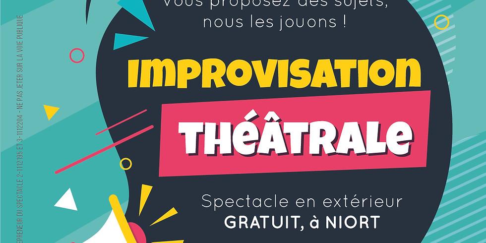 ANNULE - Impro cités - Clou Bouchet