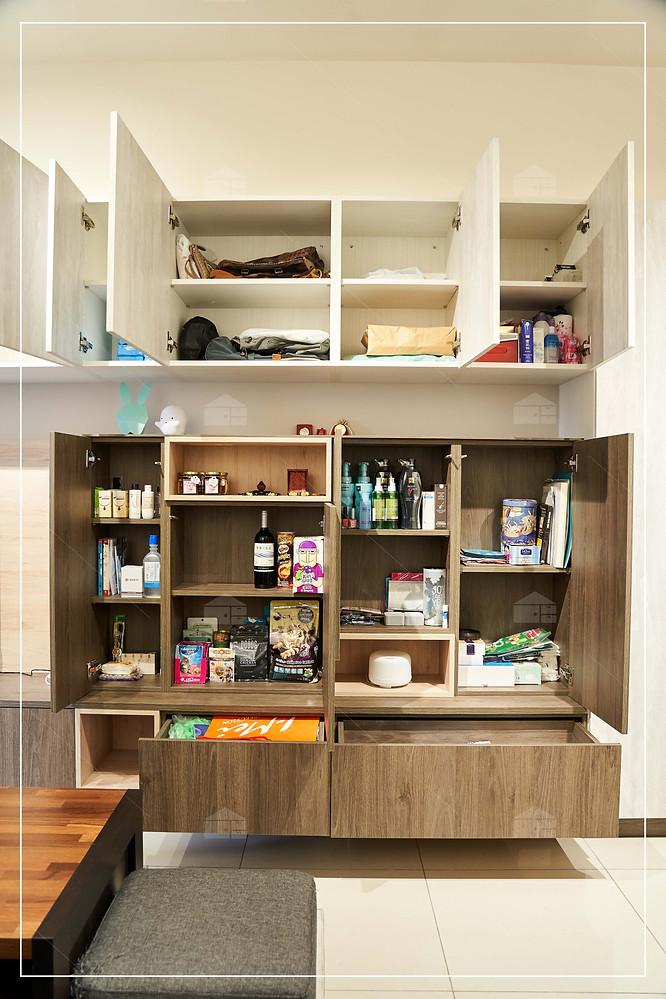 【機能性客廳】窩百態系統家具 家庭親子 小資溫馨品味宅