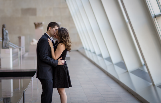 Museum of Natural History Engagement Session