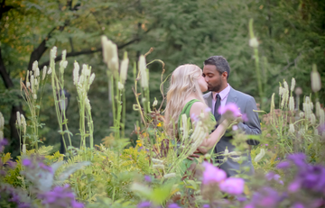 Shakespeare's Garden Engagement session NYC