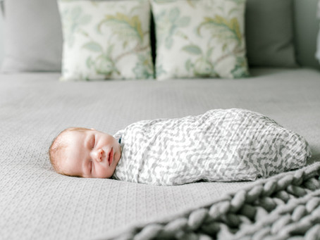 Baby Jacob - A Lifestyle Newborn Session