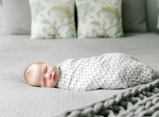Baby Jacob - A Lifestyle Newborn Session