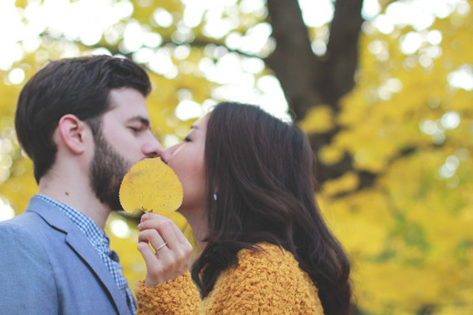 Fall engagement session - NYC