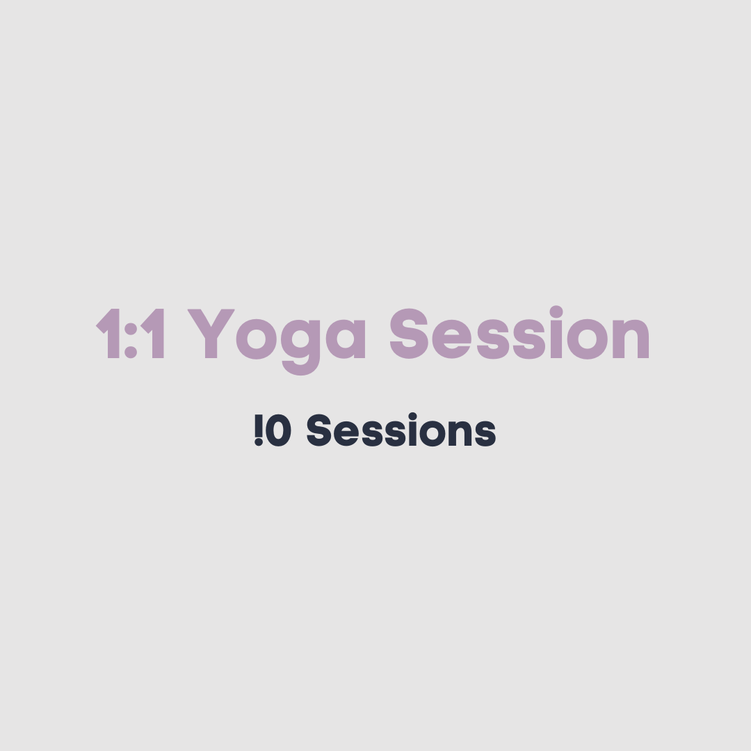 1:1 Private Yoga sessions package