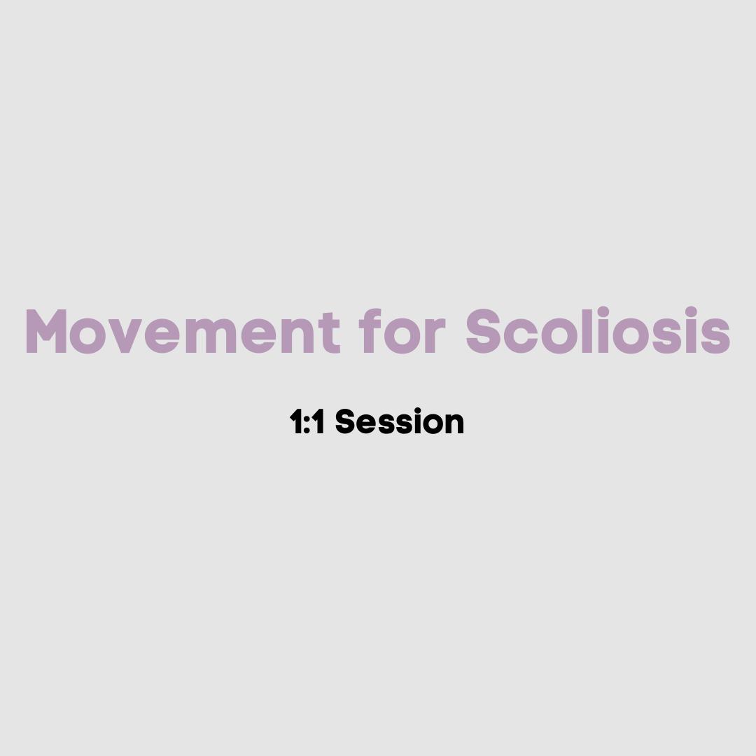 1:1 Movement for Scoliosis