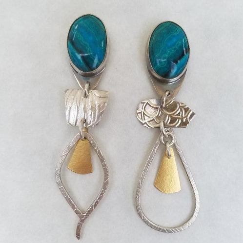 Caribbean Blue Earrings
