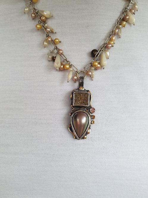 Golden Cloud Necklace