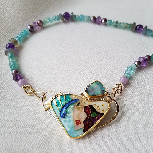 Opal Maiden Pin/Pendant