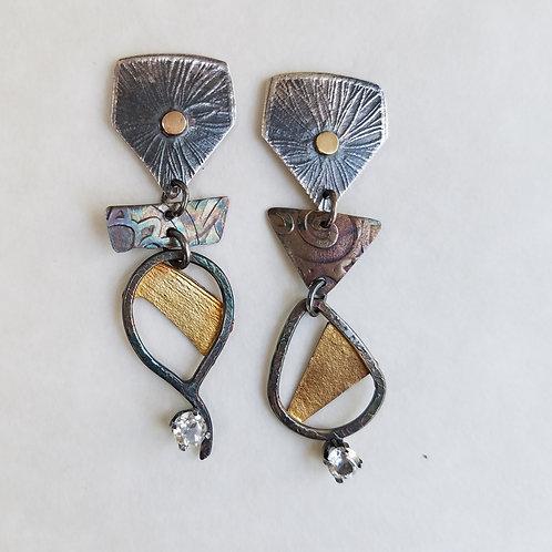 Asymetry Earrings