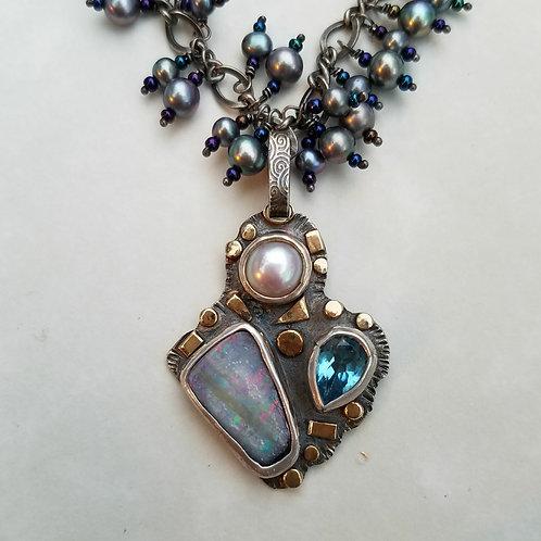 Blue Sky Necklace