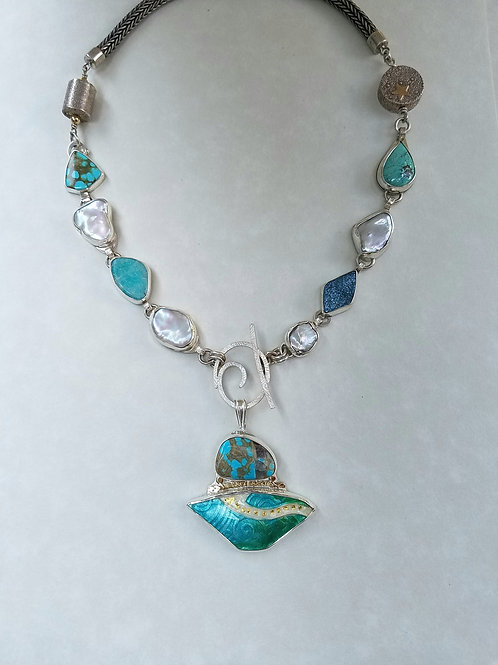 Turquoise Sea Necklace
