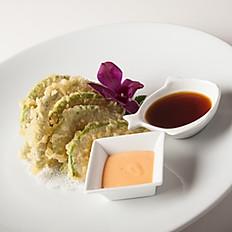 Avocado Asparagus Tempura