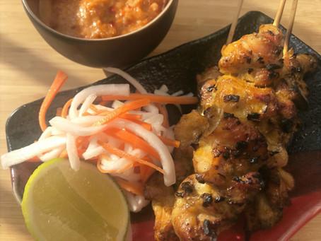 Chicken Satay Peanut Sauce