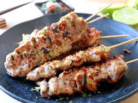 Moo Ping (Thai Pork Skewers)