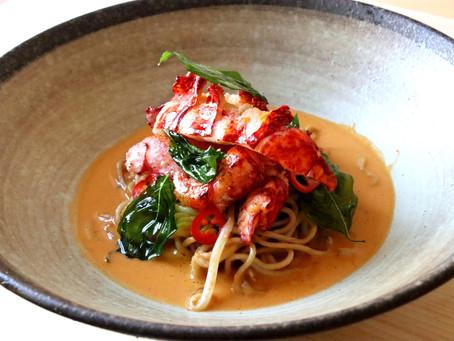 Lobster Laksa Bisque