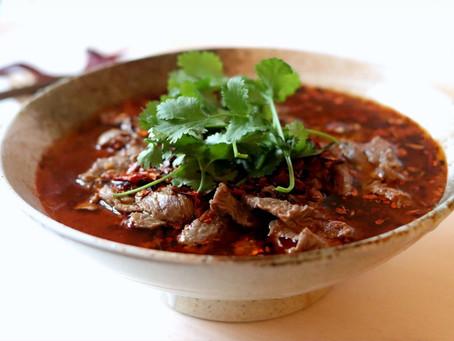 Shuizhu Niurou (Sichuan Boiled Beef)