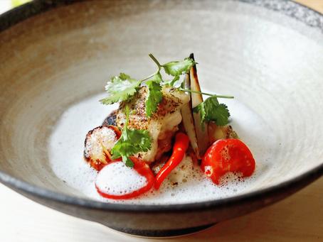 Tom Kha Gai (Chicken Wing - Scallops - Galangal Foam)