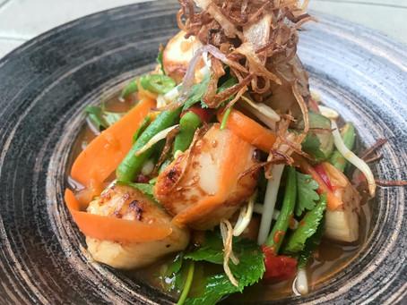Thai Scallop Salad Chilli Sauce