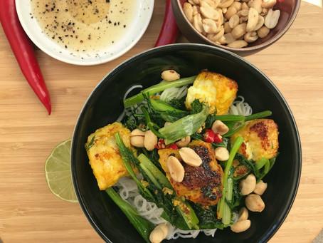 Cha Ca (Turmeric Fish Herbs Rice Noodles)
