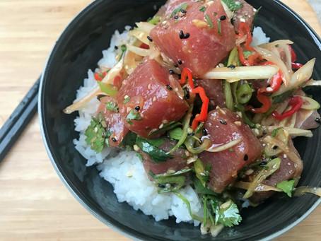 Tuna Poke Rice