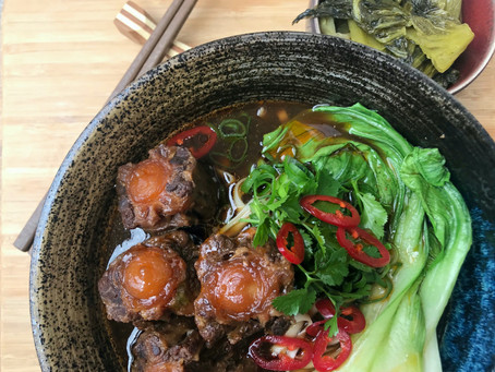Taiwanese Oxtail Noodle Soup