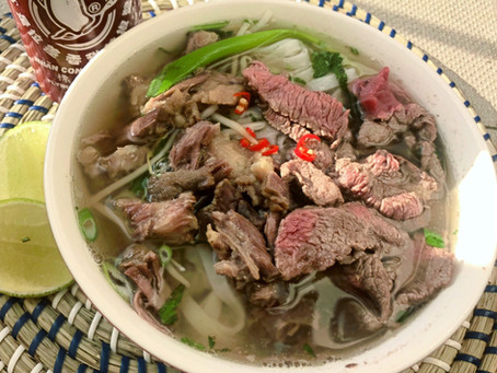 Pho (Beef noodle soup)
