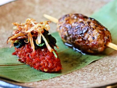 Thai Duck Chicken Tsukune Chilli Jam