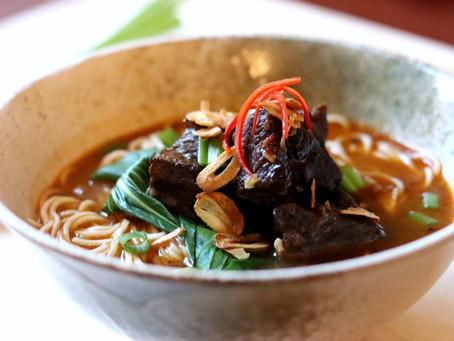 Braised Ox Cheek Noodle Soup