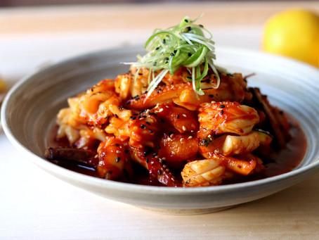 Ojingeo Bokkeum (Korean Spicy Squid)