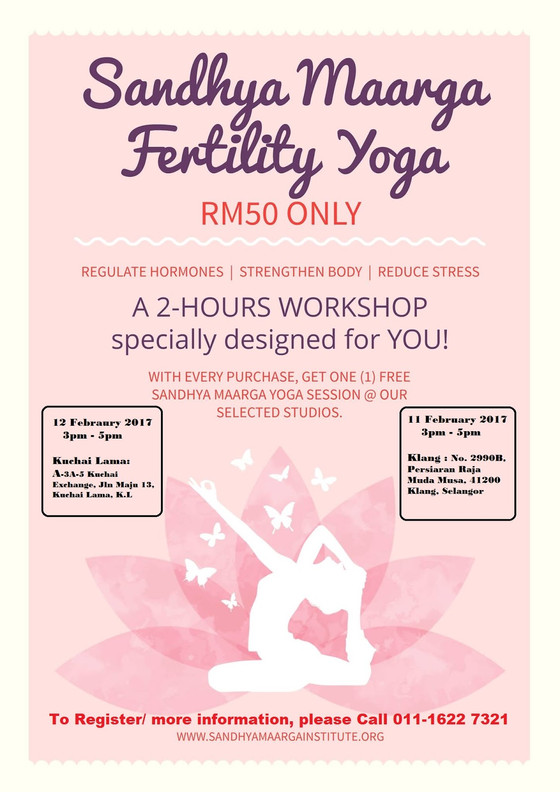 Sandhya Maarga Yoga for Fertility