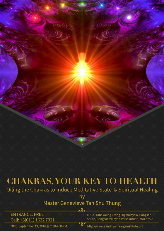 Chakras, Your Key To Health