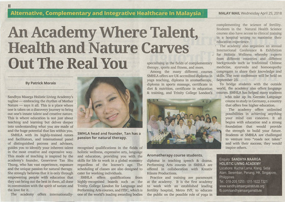 An Academy Where Talent, Health and Nature Carves Out the Real You