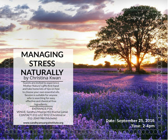Managing Stress Naturally Workshop