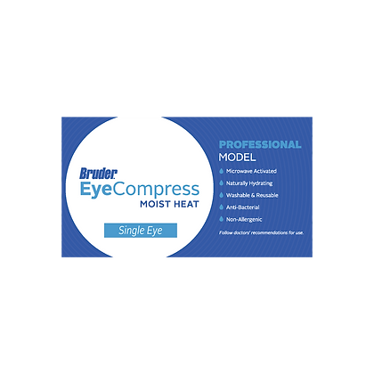 BRUDER Moist Heat Eye Compress - Single