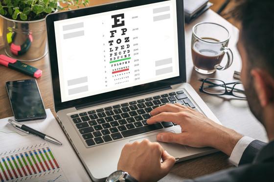 Online Vision Test vs In-office Eye Exam.