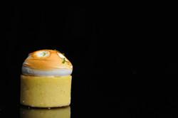 Key Lime Pie, Custard Lime,  Italian Meringue,  Lemon Soft Sponge