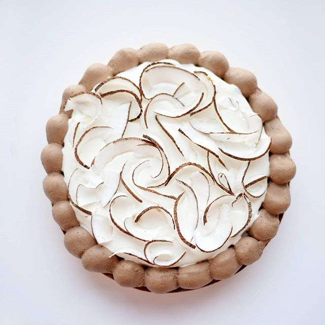 Chocolate Coconut`s Tart