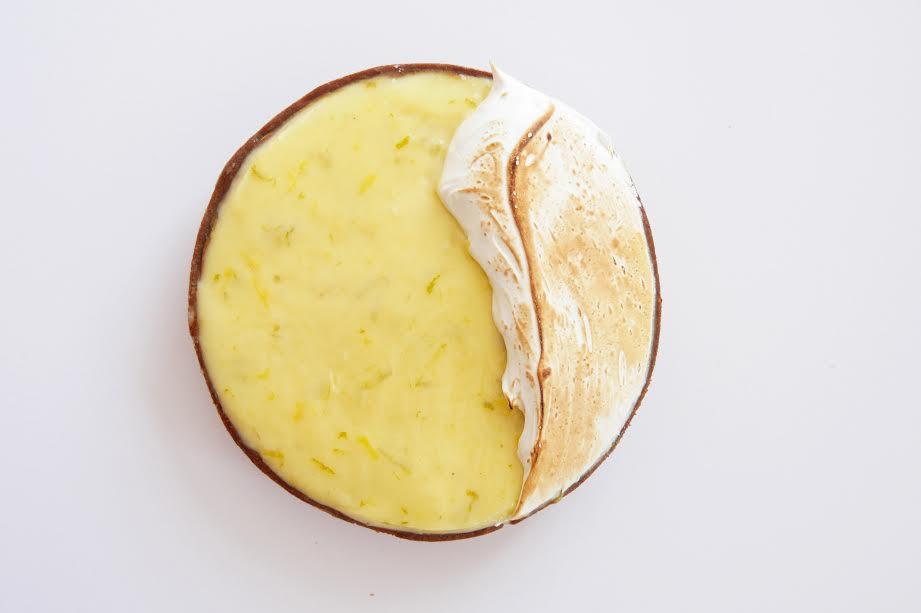 Lemon Hazelnuts Tart
