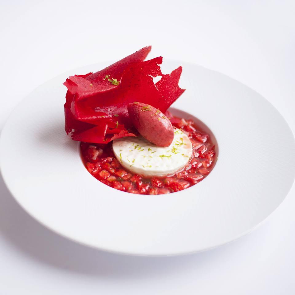 St valentin's dessert