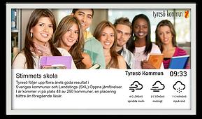 Digital Signage Smart Office