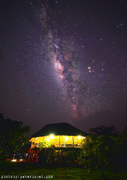 Lodge with milkyway 2
