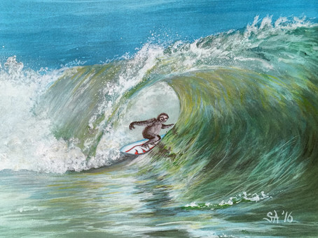 Surfing Sloths and Painting Surrealism