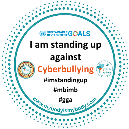 MBIMB I am standing up againstCyberbully