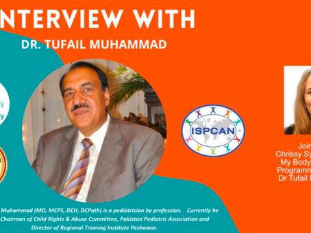 Chrissy Sykes interviews Dr Tufail Muhammad